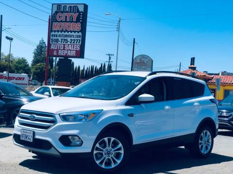 2018 Ford Escape for sale at City Motors in Hayward CA