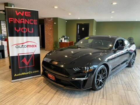 2018 Ford Mustang for sale at AutoMax in West Hartford CT