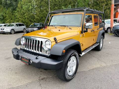 2014 Jeep Wrangler Unlimited for sale at Bloomingdale Auto Group in Bloomingdale NJ
