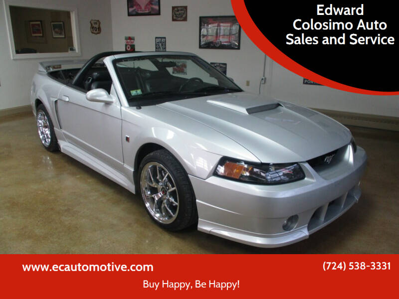 2003 Ford Mustang for sale at Edward Colosimo Auto Sales and Service in Evans City PA