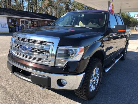 2014 Ford F-150 for sale at County Line Car Sales Inc. in Delco NC