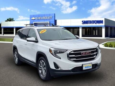 2019 GMC Terrain for sale at CHEVROLET OF SMITHTOWN in Saint James NY