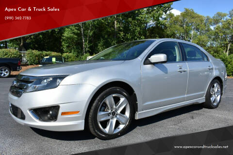 2012 Ford Fusion for sale at Apex Car & Truck Sales in Apex NC