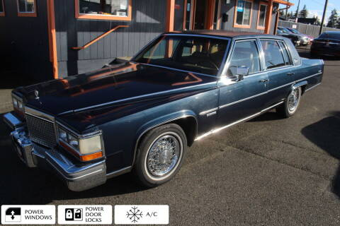 1981 Cadillac Fleetwood Brougham for sale at Sabeti Motors in Tacoma WA