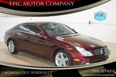 2006 Mercedes-Benz CLS for sale at Epic Motor Company in Chantilly VA