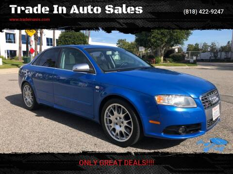 2006 Audi S4 for sale at Trade In Auto Sales in Van Nuys CA