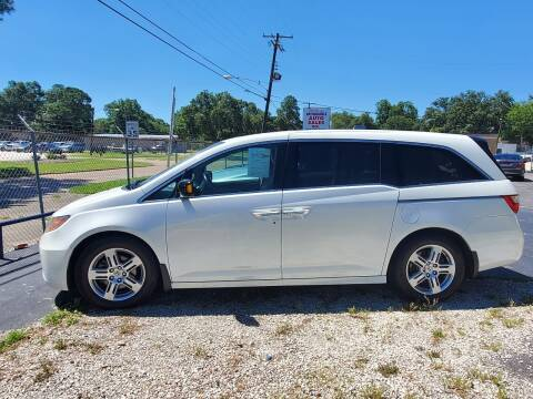 2012 Honda Odyssey for sale at Bill Bailey's Affordable Auto Sales in Lake Charles LA