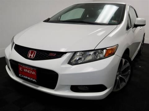 2012 Honda Civic for sale at CarNova in Stafford VA