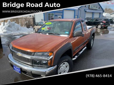 2004 Chevrolet Colorado for sale at Bridge Road Auto in Salisbury MA