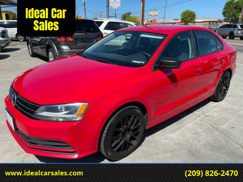 2015 Volkswagen Jetta for sale at Ideal Car Sales in Los Banos CA