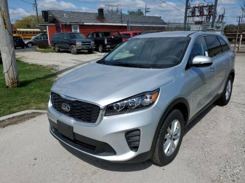 2019 Kia Sorento for sale at GLOBAL AUTOMOTIVE in Gages Lake IL