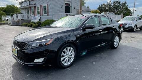 2014 Kia Optima for sale at RBT Automotive LLC in Perry OH