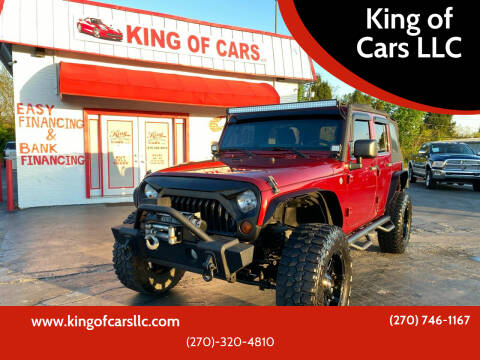 2012 Jeep Wrangler Unlimited for sale at King of Cars LLC in Bowling Green KY