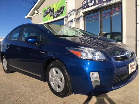 2011 Toyota Prius for sale at MARIETTA MOTORS LLC in Marietta OH