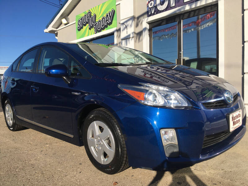 2011 Toyota Prius for sale at MARIETTA MOTORS LLC in Marietta OH