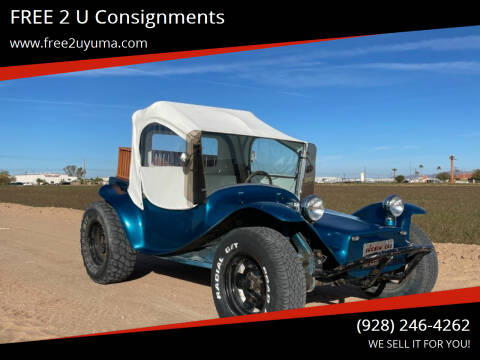 1984 Volkswagen Buggy for sale at FREE 2 U Consignments in Yuma AZ