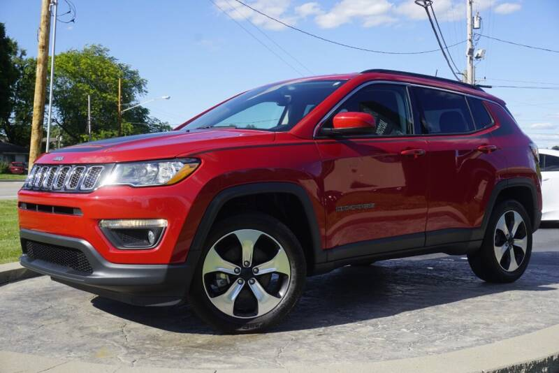 2018 Jeep Compass for sale at Platinum Motors LLC in Heath OH