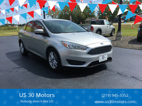 2015 Ford Focus for sale at US 30 Motors in Merrillville IN