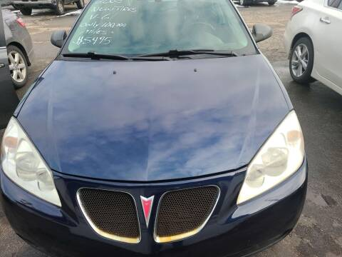 2008 Pontiac G6 for sale at All State Auto Sales, INC in Kentwood MI