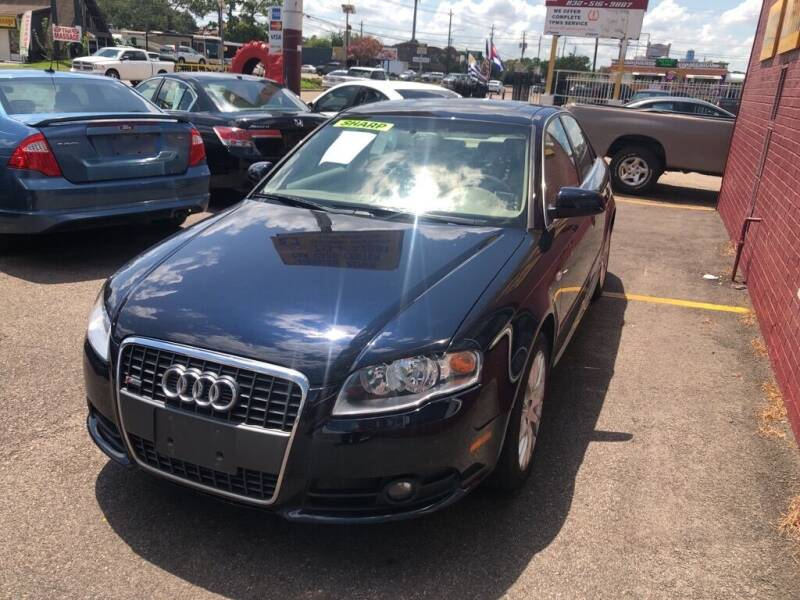 2008 Audi A4 for sale at 4 Girls Auto Sales in Houston TX