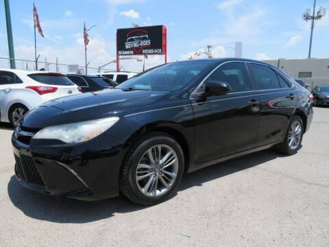 2016 Toyota Camry for sale at Moving Rides in El Paso TX