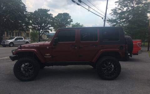 2007 Jeep Wrangler Unlimited for sale at K B Motors in Clearfield PA
