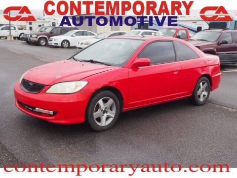 2005 Honda Civic for sale at Contemporary Auto in Tuscaloosa AL