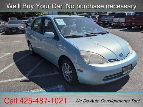 2003 Toyota Prius for sale at Platinum Autos in Woodinville WA