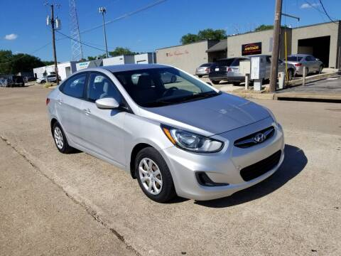 2012 Hyundai Accent for sale at Image Auto Sales in Dallas TX
