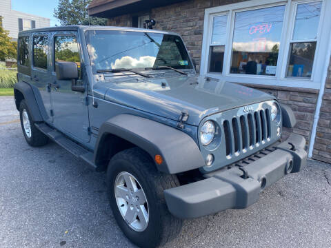 2014 Jeep Wrangler Unlimited for sale at Matt-N-Az Auto Sales in Allentown PA