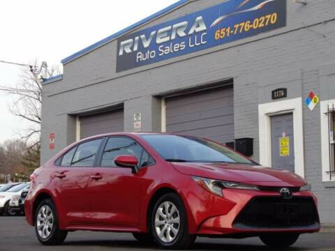 2020 Toyota Corolla for sale at Rivera Auto Sales LLC in Saint Paul MN