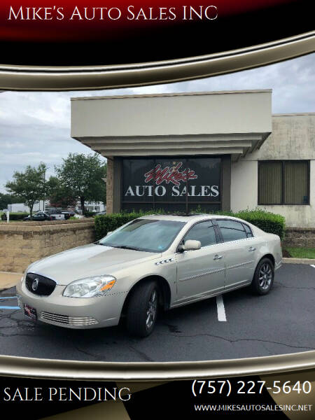 2007 Buick Lucerne for sale at Mike's Auto Sales INC in Chesapeake VA
