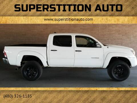 2012 Toyota Tacoma for sale at Superstition Auto in Mesa AZ