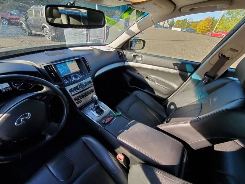 2013 Infiniti G37 Sedan AWD x 4dr Sedan - Wellsboro PA