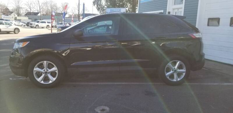 2016 Ford Edge for sale at Bridge Auto Group Corp in Salem MA