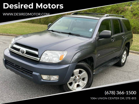 2005 Toyota 4Runner for sale at Desired Motors in Alpharetta GA