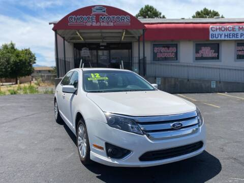 2012 Ford Fusion Hybrid for sale at Choice Motors of Salt Lake City in West Valley  City UT