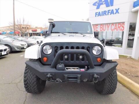 2012 Jeep Wrangler for sale at AP Fairfax in Fairfax VA