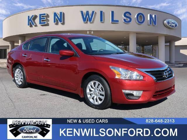 2015 Nissan Altima for sale at Ken Wilson Ford in Canton NC