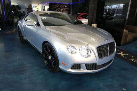 2013 Bentley Continental for sale at OC Autosource in Costa Mesa CA