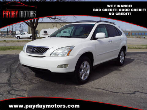 2008 Lexus RX 350 for sale at Payday Motors in Wichita And Topeka KS