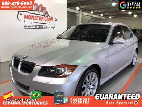 2006 BMW 3 Series for sale at Monster Cars in Pompano Beach FL