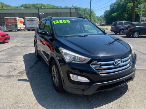 2013 Hyundai Santa Fe Sport for sale at B & P Motors LTD in Glenshaw PA