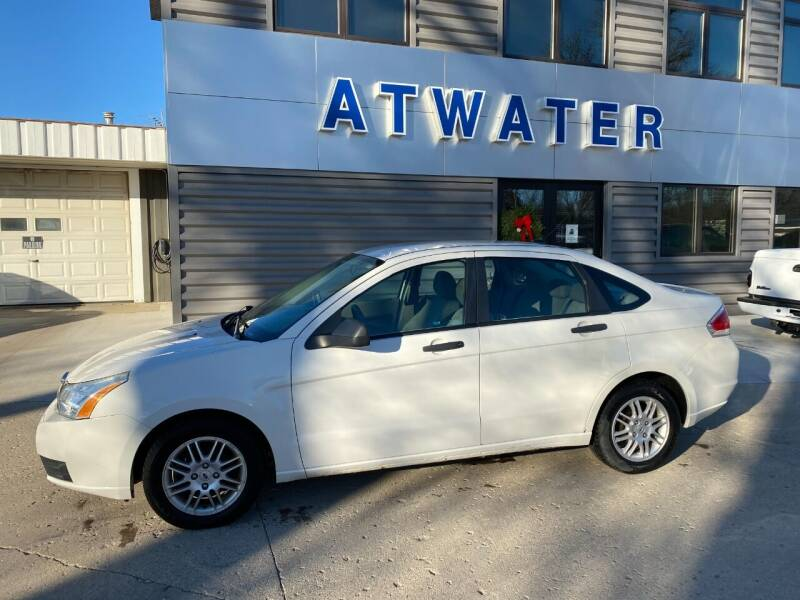 2010 Ford Focus for sale at Atwater Ford Inc in Atwater MN