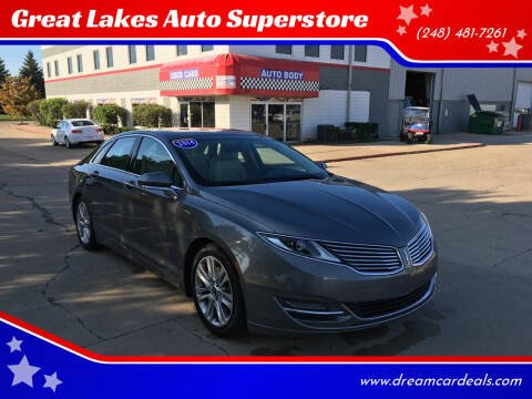 2014 Lincoln MKZ for sale at Great Lakes Auto Superstore in Pontiac MI