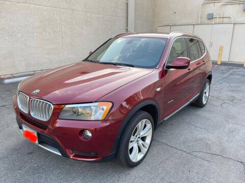 2013 BMW X3 for sale at E and M Auto Sales in Bloomington CA