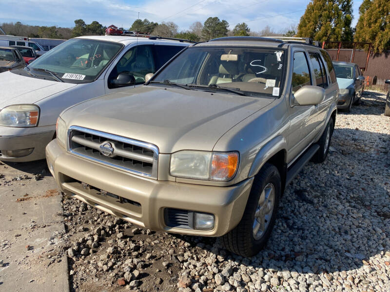 2001 Nissan Pathfinder for sale at Encore Auto Parts & Recycling in Jefferson GA