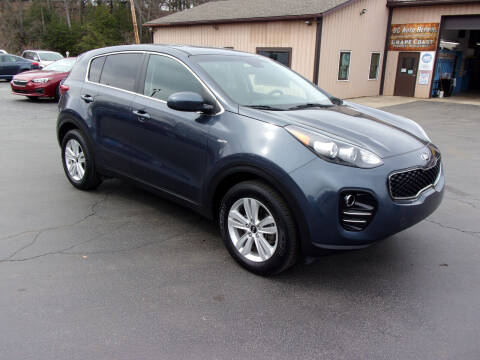2018 Kia Sportage for sale at Dave Thornton North East Motors in North East PA