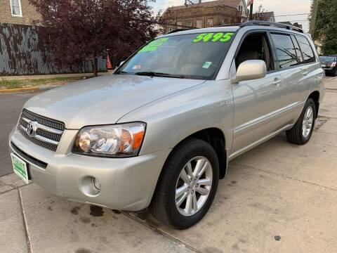 2006 Toyota Highlander Hybrid for sale at Barnes Auto Group in Chicago IL