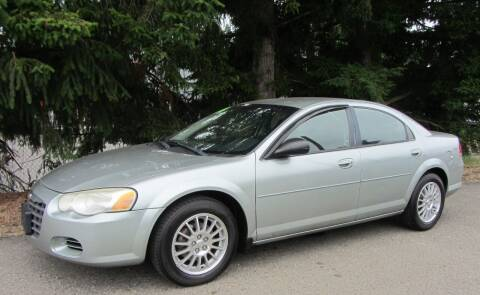 2004 Chrysler Sebring for sale at B & C Northwest Auto Sales in Olympia WA